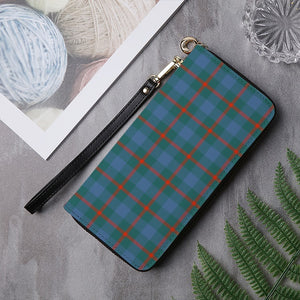 AGNEW ANCIENT TARTAN ZIPPER WALLET HJ4