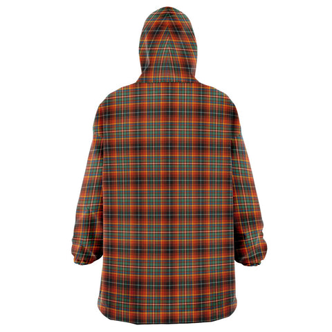 Innes Ancient Snug Hoodie - Unisex Tartan Plaid Back