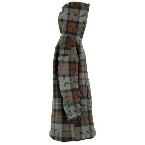 MacLeod of Harris Weathered Snug Hoodie - Unisex Tartan Plaid Right