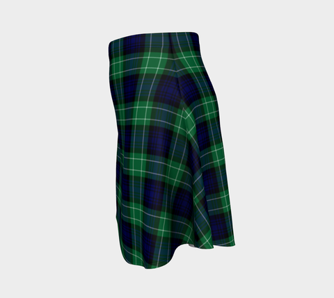 Tartan Skirt - Abercrombie Tartan Women Flared Skirt A9 |Clothing| 1sttheworld