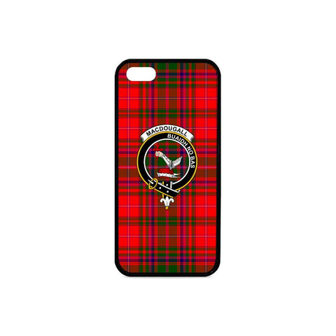 Macdougall Tartan Clan Badge Rubber Phone Case HJ4