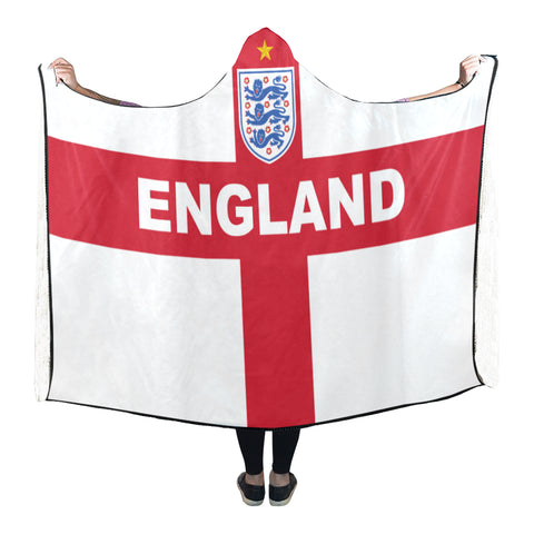 Image of England World Cup Hooded Blanket - Bn03 | Love The World
