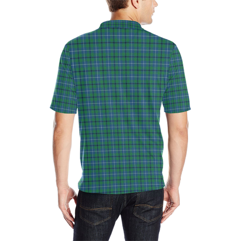 Douglas Ancient  Tartan Polo Shirt HJ4