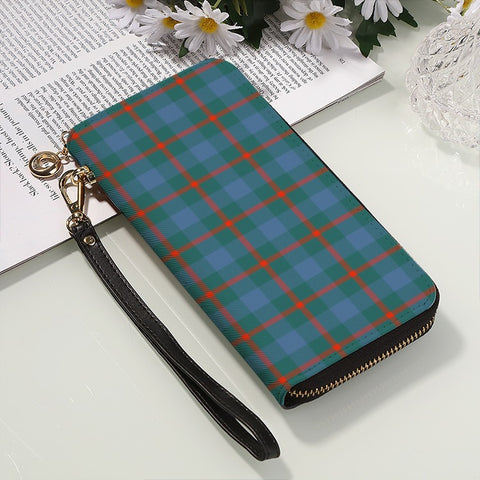 Image of AGNEW ANCIENT TARTAN ZIPPER WALLET HJ4