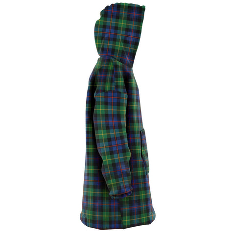 Image of Farquharson Ancient Snug Hoodie - Unisex Tartan Plaid Right