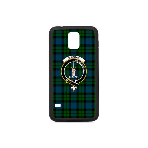 Mackay Tartan Clan Badge Rubber Phone Case HJ4