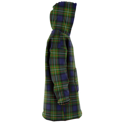 Fergusson Modern Snug Hoodie - Unisex Tartan Plaid Right