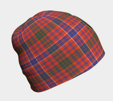 Image of MacRae Ancient Tartan Clan Crest Beanie