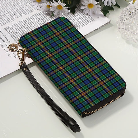 ALLISON TARTAN ZIPPER WALLET HJ4