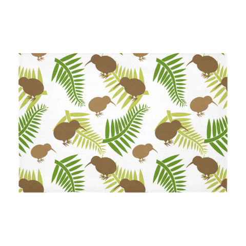 Image of New Zealand Tablecloth  - Silver Fern 15 A2