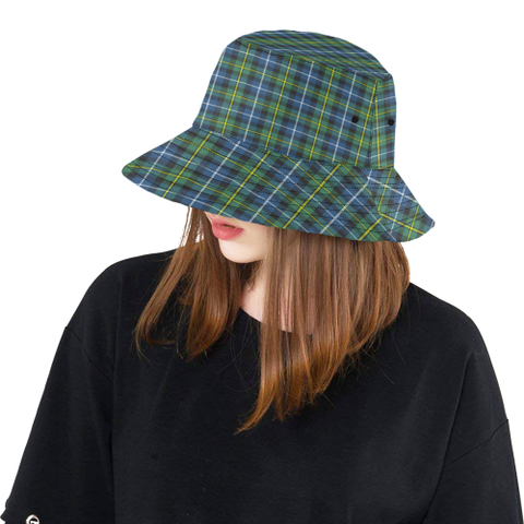 Macneill Of Barra Ancient Tartan Bucket Hat K4