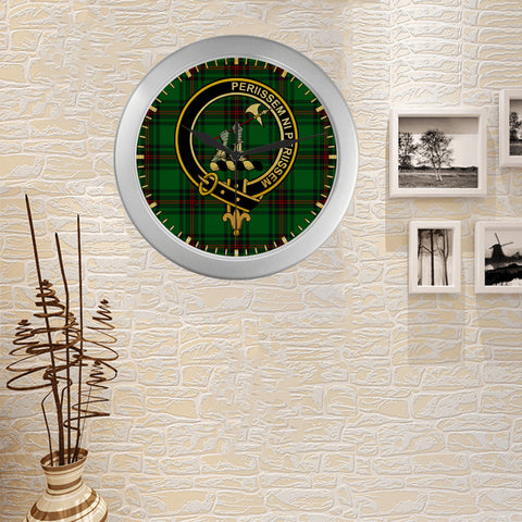 ANSTRUTHER CLAN TARTAN WALL CLOCK A9