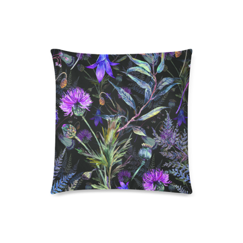 Image of Thistle 01 Zippered Pillow Cases A1 | 1sttheworld.com