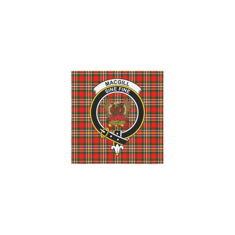 MacGill Modern Tartan Towel Clan Badge | 1sttheworld.com