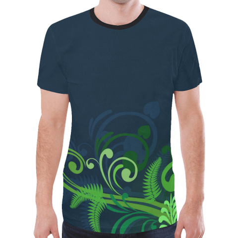 Image of Special Edition of New Zealand Fern - Fern All Over Print T-shirt