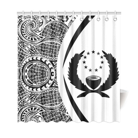 Image of Pohnpei Micronesian Shower Curtain \