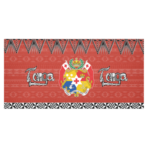 Image of Coat of Arms Tonga Tablecloth 2