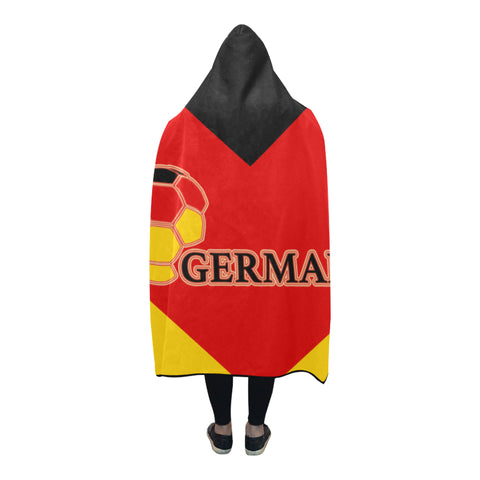 Image of Germany World Cup Hooded Blanket - Bn03 | Love The World