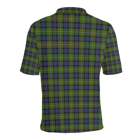 Ferguson Modern Tartan Clan Badge Polo Shirt HJ4