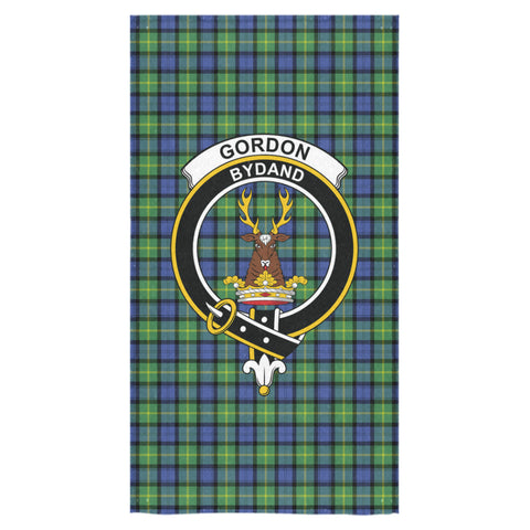 Gordon Old Ancient Tartan Towel Clan Badge NN5