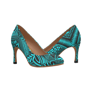 Polynesian Hawaii High Heels 02 HJ4