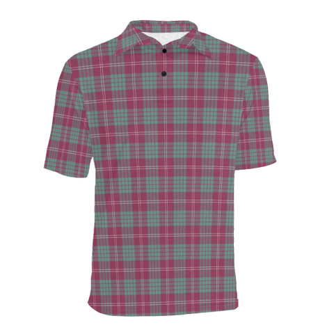 Crawford Ancient  Tartan Polo Shirt HJ4