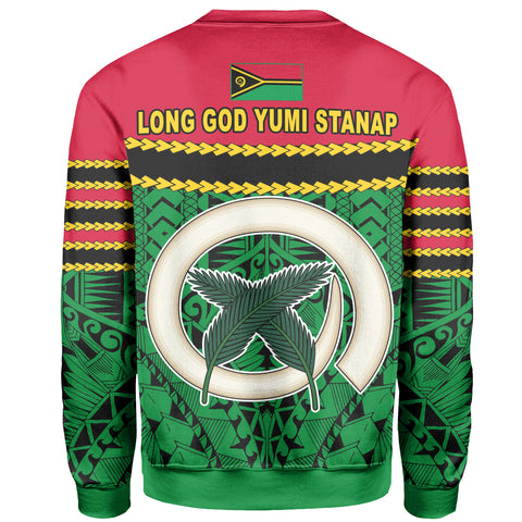 Image of Vanuatu Coat Of Arms Sweatshirt