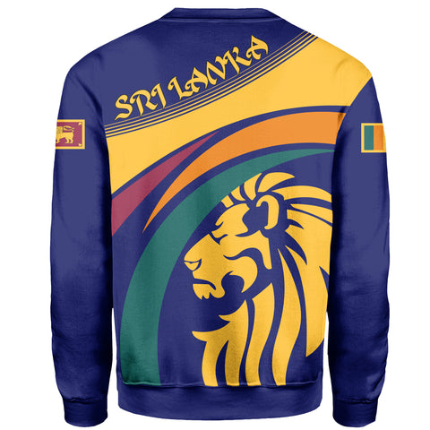 Sri Lanka Coat Of Arms Sweatshirt