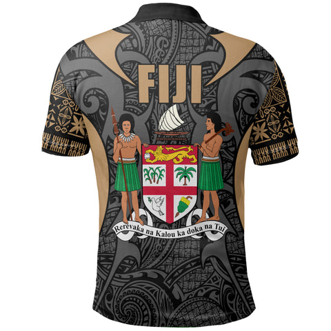 Fiji Coat Of Arms Polo Shirt
