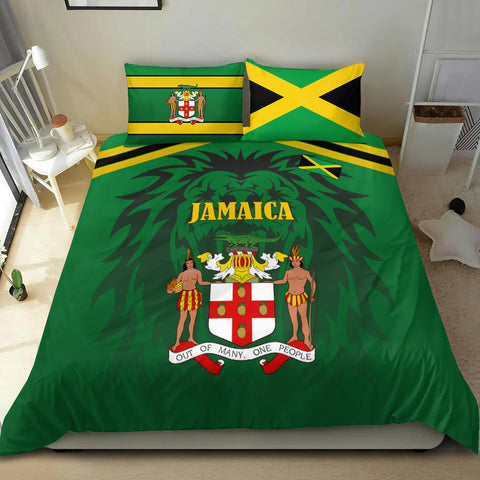 Image of Jamaica Bedding Set- Flag of Jamaica