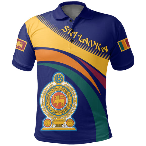 Sri Lanka Coat Of Arms Polo Shirt