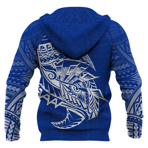 Image of Samoa Tattoo Rugby Style Hoodie back