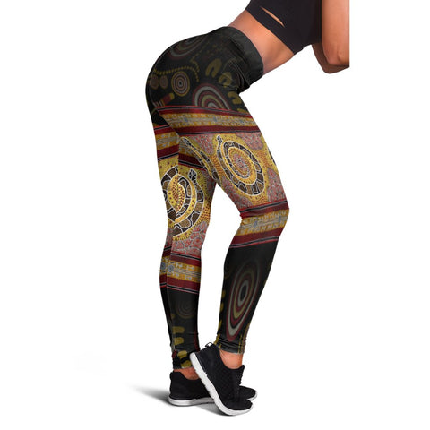 1sttheworld  Leggings -  Snake Dot Panting Art - BN17