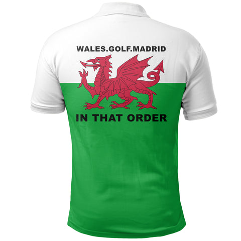 Image of Wales Golf Madrid Polo T Shirt K2