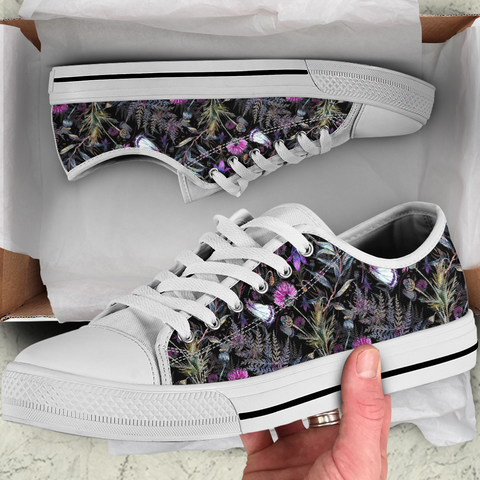Scotland Shoes - Thistle Canvas Shoes 02 A2