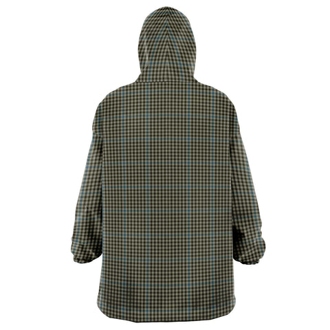 Haig Check Snug Hoodie - Unisex Tartan Plaid Back