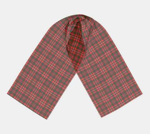 Tartan Long Scarf - Mackinnon Modern - BN