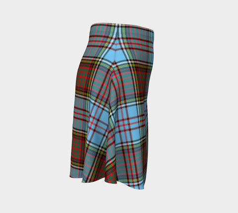 Tartan Skirt - Anderson Ancient Women Flared Skirt A9 |Clothing| 1sttheworld