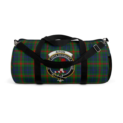 Aiton Tartan Duffle Bag - Clan Badge