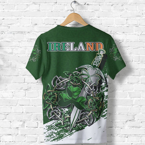 Ireland - Celtic Shamrock & Sword Special T-Shirt A7