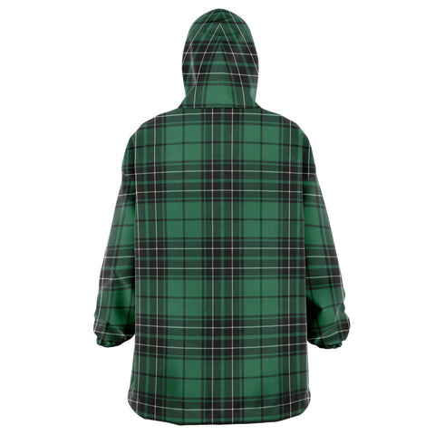 MacLean Hunting Ancient Snug Hoodie - Unisex Tartan Plaid Back