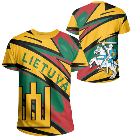 Lithuania Knight Forces T-Shirt - Lode Style - JR