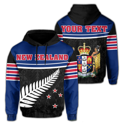 New Zealand Coat Of Arms Hoodie | 1sttheworld