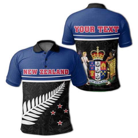 New Zealand Coat Of Arms Polo Shirt | 1sttheworld