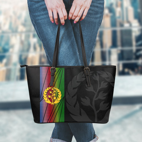 Eritrea Leather Tote Bag Eritrea United A7