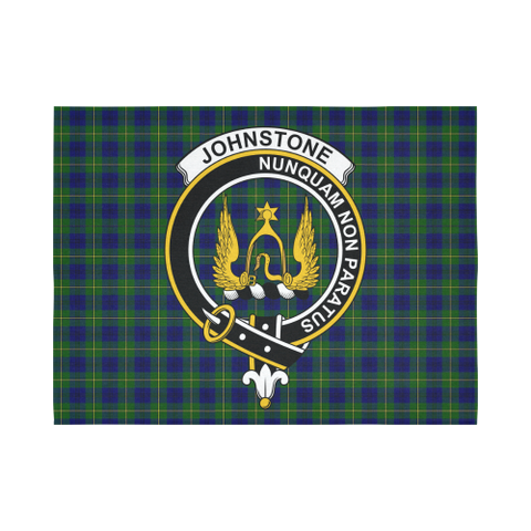 Johnstone Tartan Tapestry Clan Badge K7