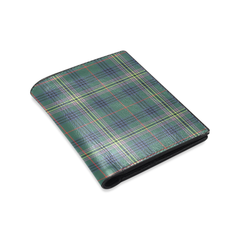 Image of Kennedy Modern Tartan Wallet | Leather wallet for men | 1sttheworld