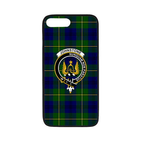 Johnstone Tartan Clan Badge Luminous Phone Case