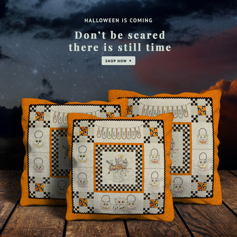 Image of Halloween Pillow Covers - halloween gift, halloween pillow covers, halloween pattern, online shopping, home decor