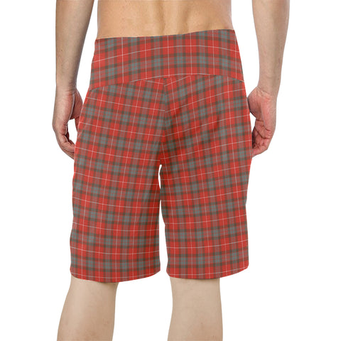 Fraser Weathered Tartan Board Shorts  - BN